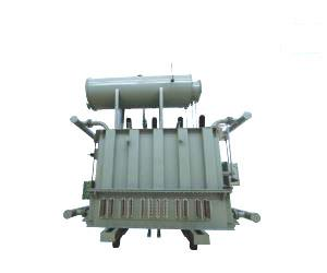 Rectifier transformer for silicon carbide graphite electric furnace